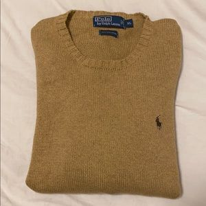 Men's polo pima cotton sweater XL